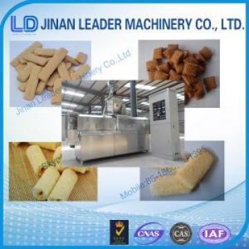 Low consumption snack food extruder puffed corn snacks making machinery