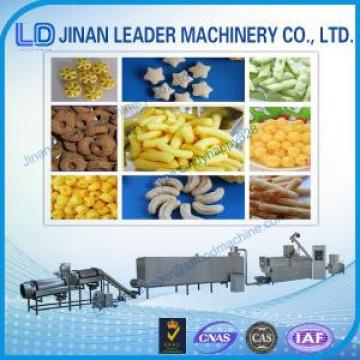 Puffed snack food processing machine extrusion Rice Puffing corn puffs machine