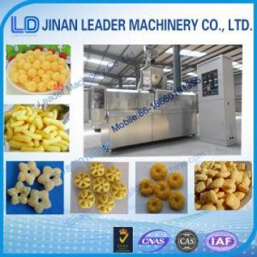 Multi-functional wide output range corn snack food processing machinery
