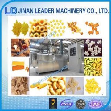 Stainless steel wheat rice corn puff food extruder machine
