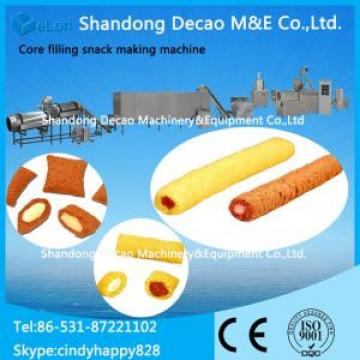Core filling snack processing machine / cream snack making machine