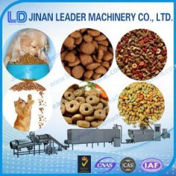 Low consumption floating fish feed dry dog food processing equipments