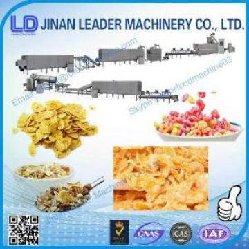 Commercial corn flakes processing line cereal puffing machine
