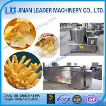 Industrial Deep Fryer crispy potato chips making machine processing line