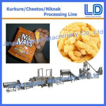 Kurkure Snack Production Line kurkure making processing price machine