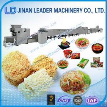 Multi-functional wide output range Fried instant noodles production line