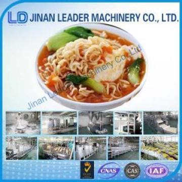 Small scale fried instant noodles production line factory