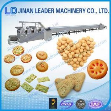 Small Industrial soft  hard  biscuit snack food processing machine