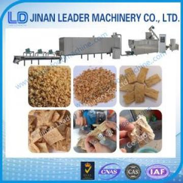 Low consumption soybean protein soya nugget food extruder machine
