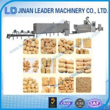 Industrial soybean protein soya nugget food processing equipments