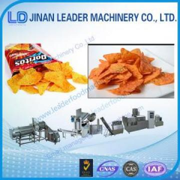 Multi-functional wide output range doritos crash food processing machine