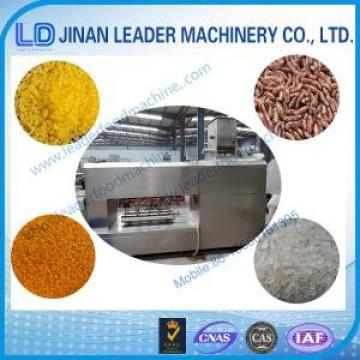 Artificial / Nutrition Rice Processing Line food processing equipment industry