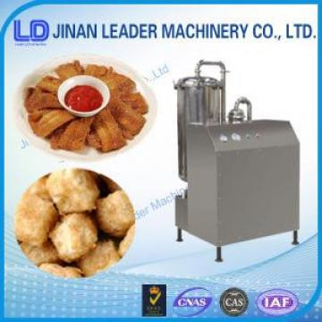 Multi-functional wide output range frying food processing industries