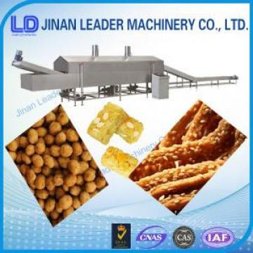 Easy operation nut snacks puffed food frying machine