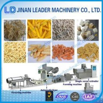 Multi-functional wide output range screw and shell food making machine