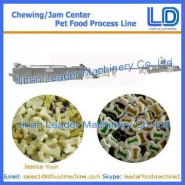 Chewing/jam center pet food making machine,Animal and Pet food processing line