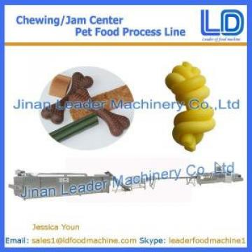 Chewing/jam center pet food process line,Animal food processing line