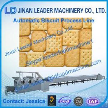 Jinan Leader Machinery Automatic Biscuit Process Line / Biscuit making lines