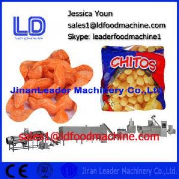 Cheese ball Inflating snacks food machinery