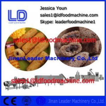 Co-extruder Puffs Snacks Food process line