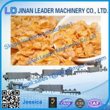 Corn flakes process line,2014 high quality cereal corn flakes extruder machine