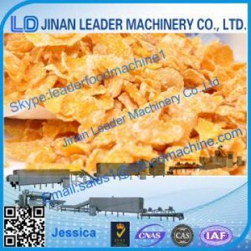 Corn flakes processing line,2015 hot sale corn flakes snack machine