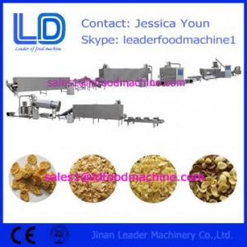 Corn flakes food processing equipment,breakfast cereals making machine