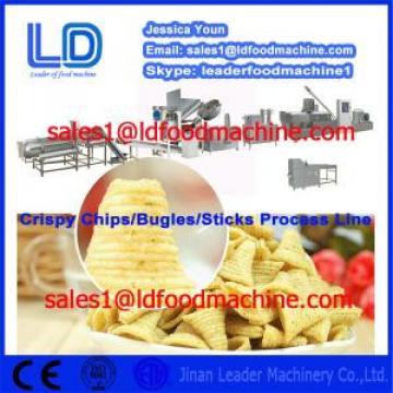 Big Capacity Crispy chips /salad/bugles making machinery