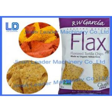 Flaxseed Tortilla chips making machinery/snacks food production line