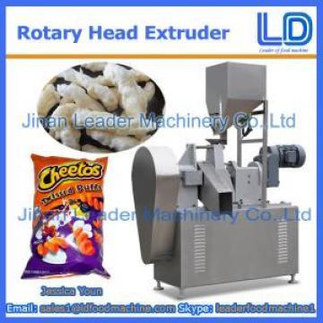 Rotary head extruderfor Niknak, cheetos, kurkure, cheese curls