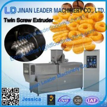 Double Screws Extruder Snack foods Machine
