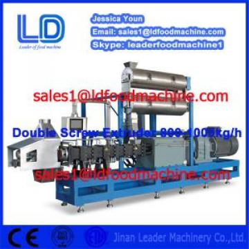 Big capacity double screw extruder food snack machine