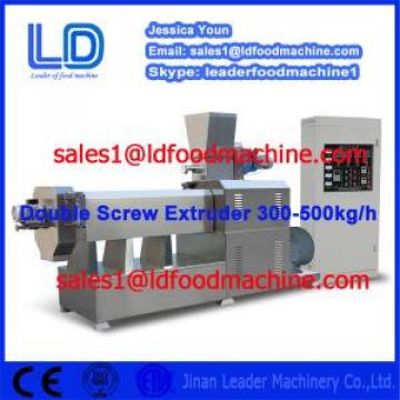 DOUBLE SCREW EXTRUDER FOR FOOD MACHINE