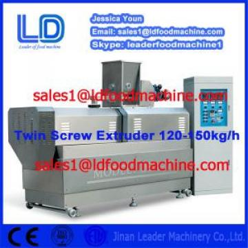 Double screw /fish food extruder /dry pet food / puffed cereal snack extruder machine