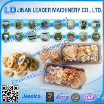 Apple Chips processing machinery
