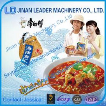 Instant noodles processing machine with CE ISO certificate
