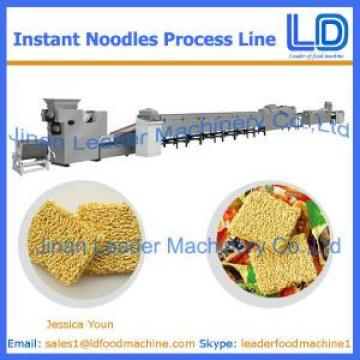 Instant noodles process line for bag
