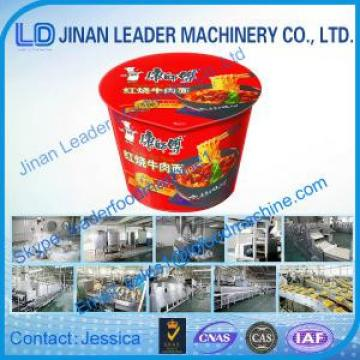 Instant noodles making machine with CE ISO certificate