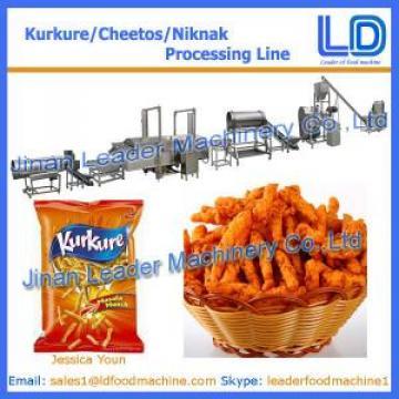 High Quality KURKURE /CHEETOS /NIKNAK Snacks food processing Equipment