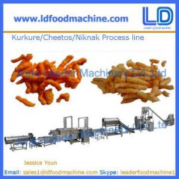 Kurkure /Cheetos /Niknak production line,snacks food machine