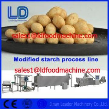 Food grade Stainless Steel Automatic Modified Starch extrusion Machinery