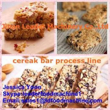 Automatic Healthy Puffed Roasted Barley Granola/cereal Bar Machine