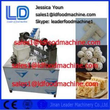 China Automatic Healthy Puffed Roasted Barley Granola Bar Machine