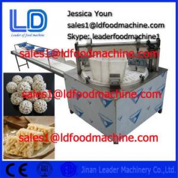 Healthy Puffed Roasted Barley Granola Bar extrusion machine