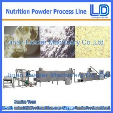 Automatic Nutrition powder processing eauipment,Baby rice powder food machine