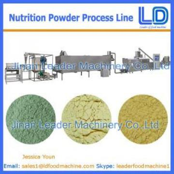 China Manufacturer Nutrition powder processing eauipment,Baby rice powder food machinery