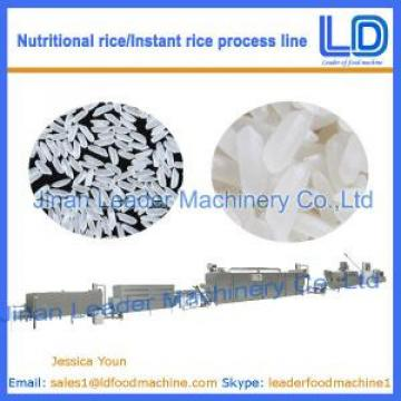 Artificial rice/Instant Rice Food processing line price