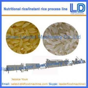 Instant Rice/Nutritional Rice Food making machinery