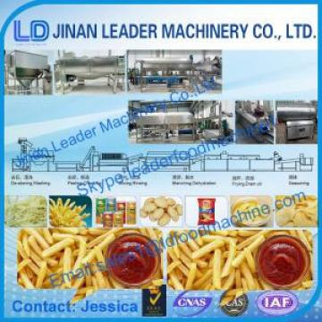 Potato chips sticks food processing equipment with CE ISO