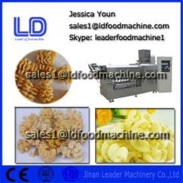 Automatic Screw/shell/chips frying food extrusion machine
